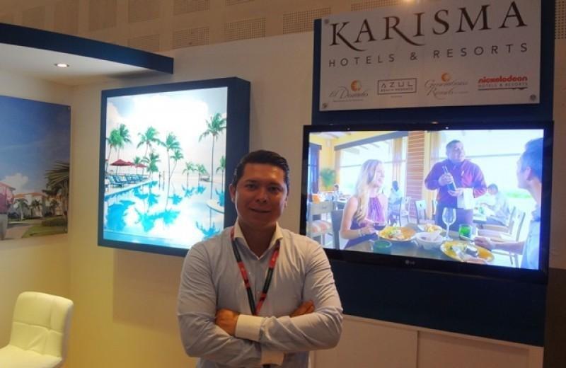 Arturo Nieto, director corporativo de ventas en México de Karisma Hotels. Foto: J. Lyonnet.