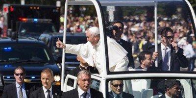 Francisco será el tercer papa que visite Colombia.