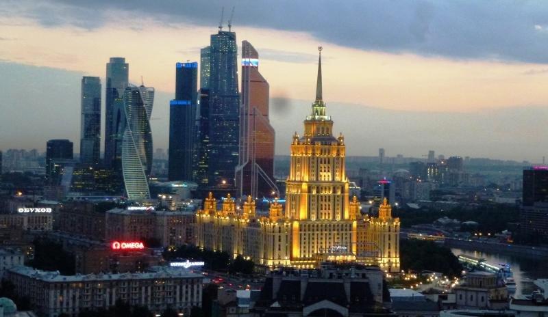 Centro financiero de Moscú. Foto: Rudolf Simon.