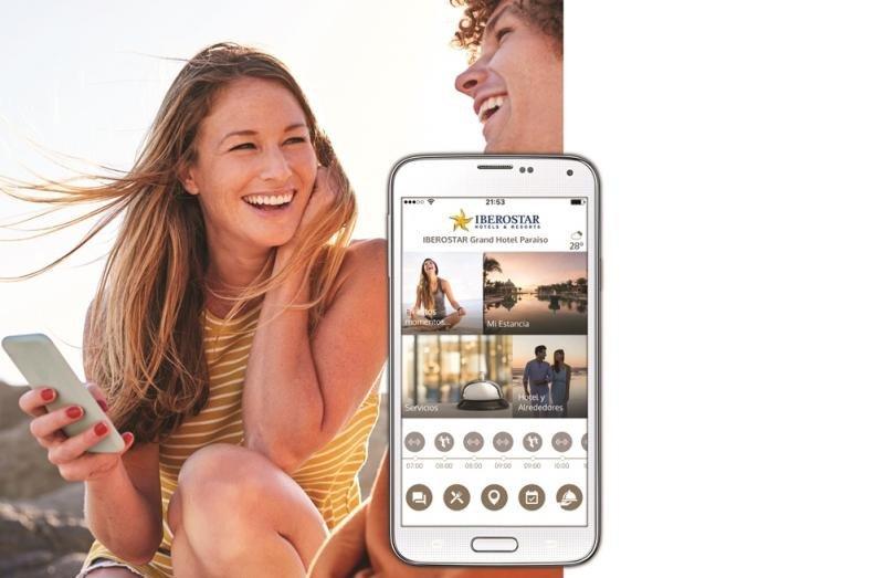 La app alberga información de todos los servicios del hotel y de su entorno e irá ampliándose constantemente para ser cada vez más valiosa para el cliente.