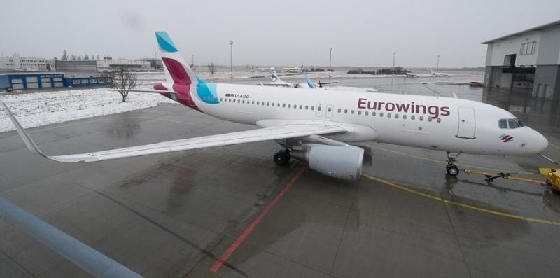 Eurowings sigue su plan de expansión y busca 200 pilotos y 400 TCP c on licencia para el A320.