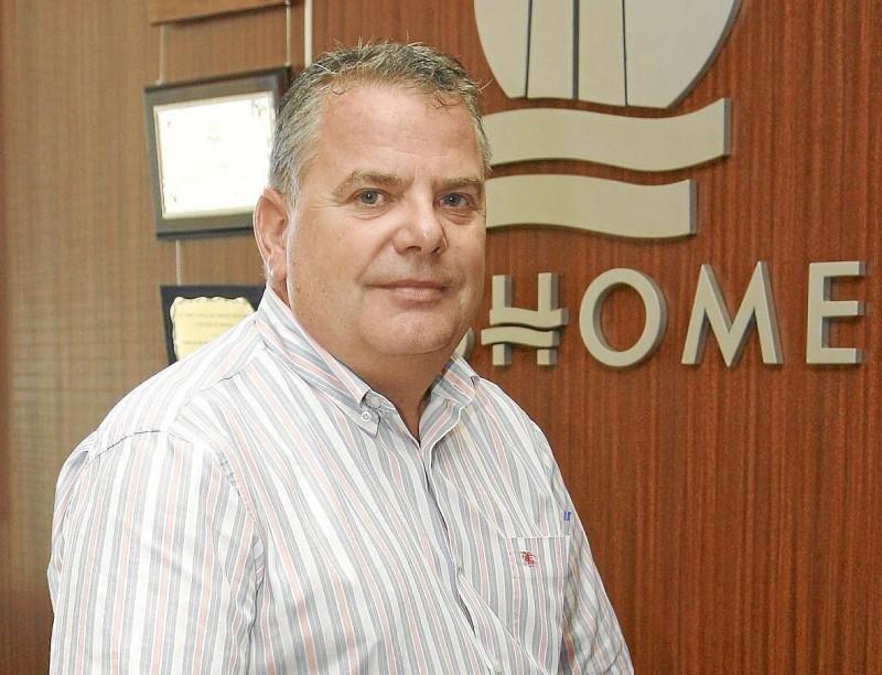 El presidente de Ashome, Luis Pablo Casals.