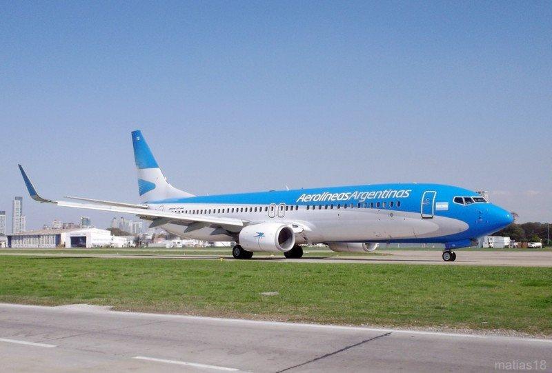 Aerolíneas Argentinas aumenta 12% los pasajeros transportados en julio