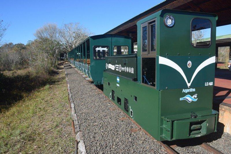 Parque Nacional Iguazú tiene la primera locomotora ecológica de Argentina