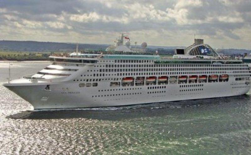 Imagen del crucero Sea Princess.