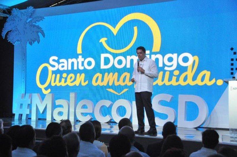 Remodelan emblemático Malecón de Santo Domingo para atraer turistas