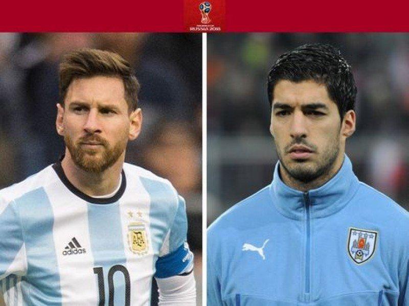 Messi y Suárez, las figuras que quieren para promocionar candidatura al Mundial