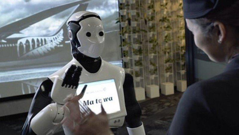 Air New Zealand usará robots para atender en aeropuerto de Sídney