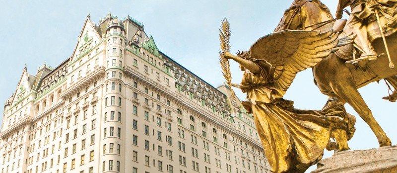 Dueños del Hotel Plaza de Nueva York buscan compradores