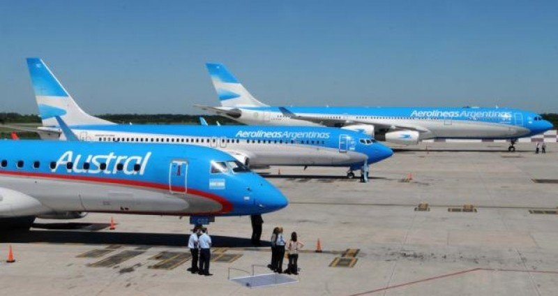 Aeronavegantes rechazan propuesta salarial del Aerolíneas Argentinas-Austral