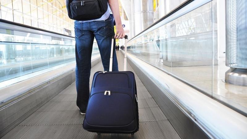 Libres de equipaje por el aeropuerto.