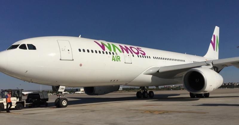El último A330-200 incorporado a la flota de Wamos Air.