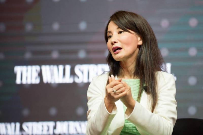 La CEO de la online, Jane Sun. Foto: WSJ.