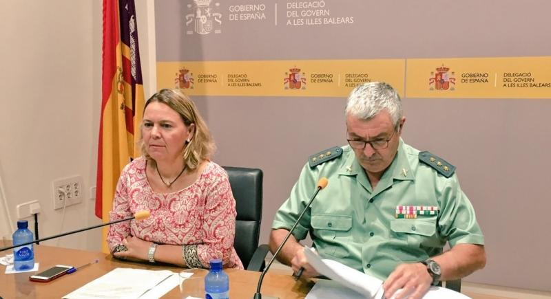 La red desarticulada en Mallorca estafó 50 M € con reclamaciones falsas