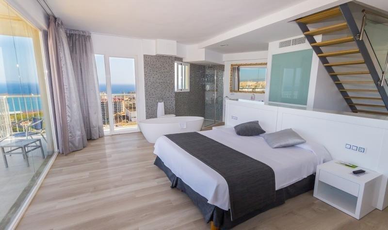 Palma de Mallorca es la ciudad con el precio más elevado en septiembre. Foto: Suite del Hotel Amic Horizonte.