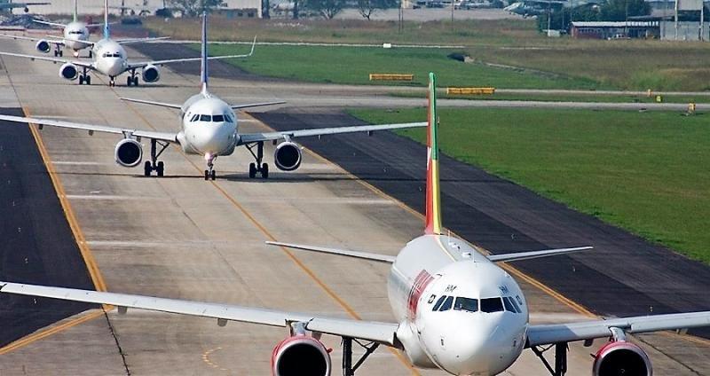 Las aerolíneas latinoamericanas lideraron el crecimiento.