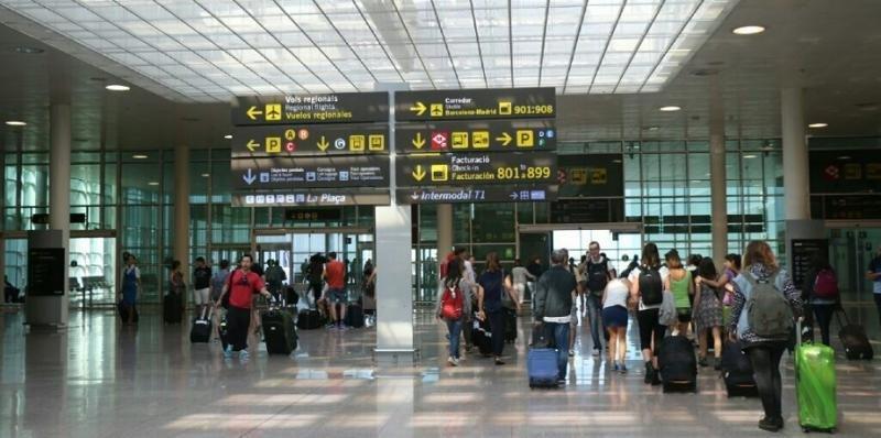 El tráfico de los aeropuertos españoles, con menor crecimiento en agosto