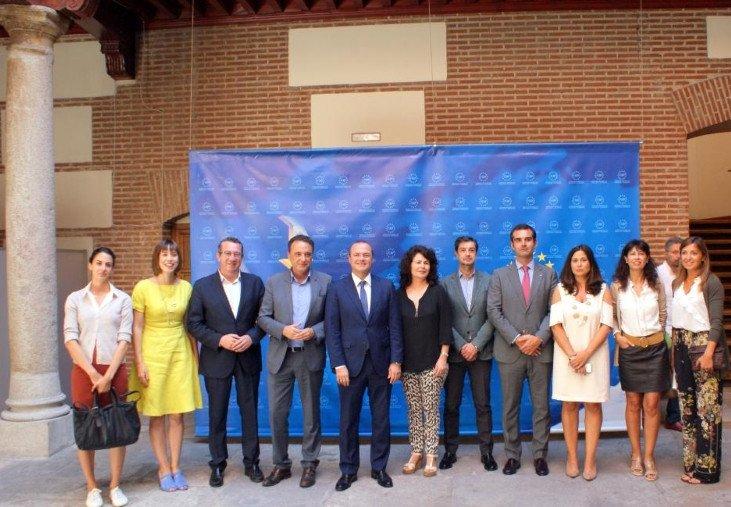 Reunión del SCB con Matilde Asián, secretaria de Estado de Turismo.