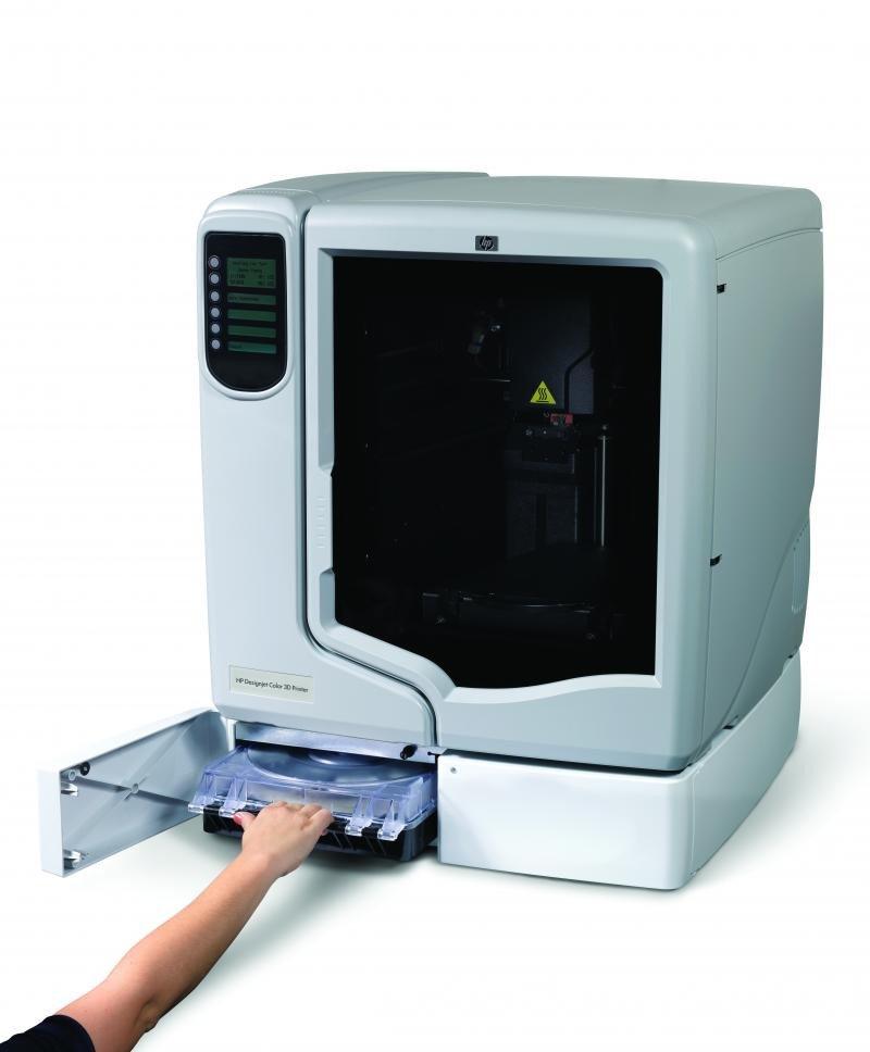 Imagen: impresora 3D de HP