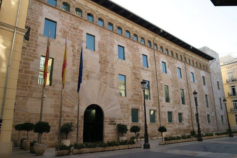 Palacio de Les Corts Valencianes.