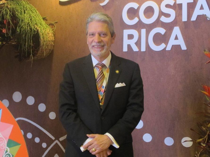 El Ministro de Turismo de Costa Rica, Mauricio Ventura.