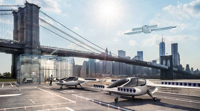 El taxi volador alemán atrae a los grandes inversores tecnológicos mundiales