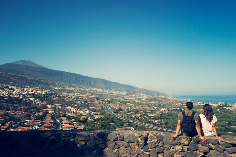 Mirador de Humboldt, en Orotava. Imagen: Turismo de Tenerife.