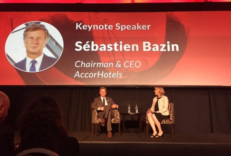 Entrevista a Sébastien Bazin, CEO de Accor Hotels. (Foto: @marianaalfaro)