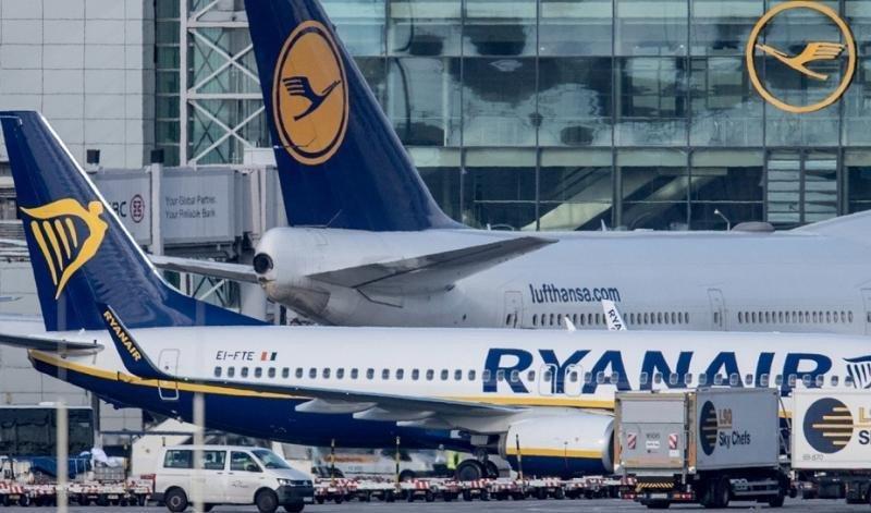 Lista de los vuelos cancelados por Ryanair hasta final de octubre