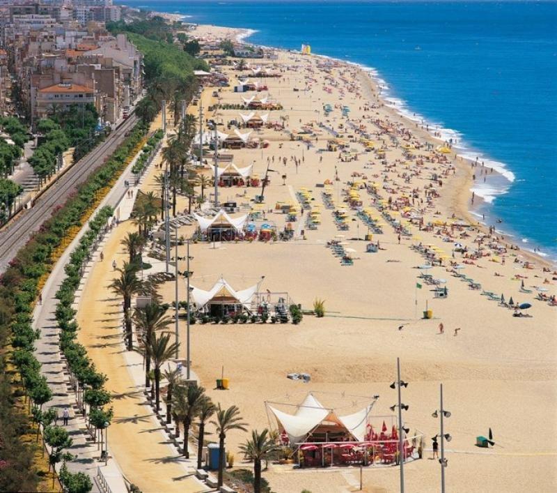Playas del Maresme. Imagen: Publintur.