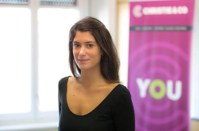 Guillemette Briard es la nueva consultora en la oficina de Christie Co en Barcelona.
