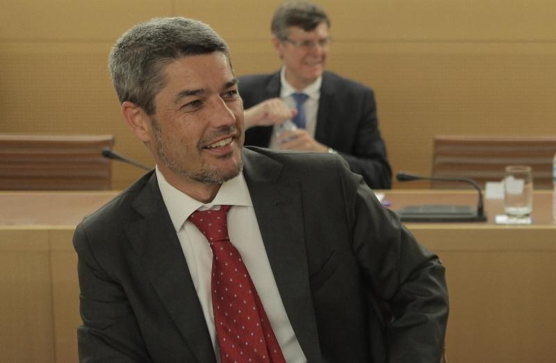 Alberto Bernabé, consejero de Turismo del Cabildo de Tenerife.