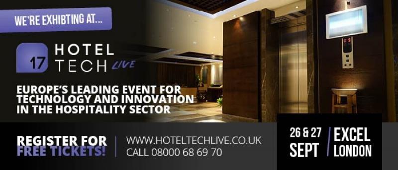 ExCeL London alberga los próximos días 26 y 27 de septiembre Hotel TECH Live, uno de los eventos más influyentes de este ámbito en Europa.