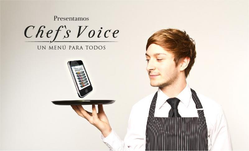 Chef´s Voice traduce a voz en 12 idiomas la carta del menú, y filtra la búsqueda de alérgenos para garantizar la seguridad del cliente.