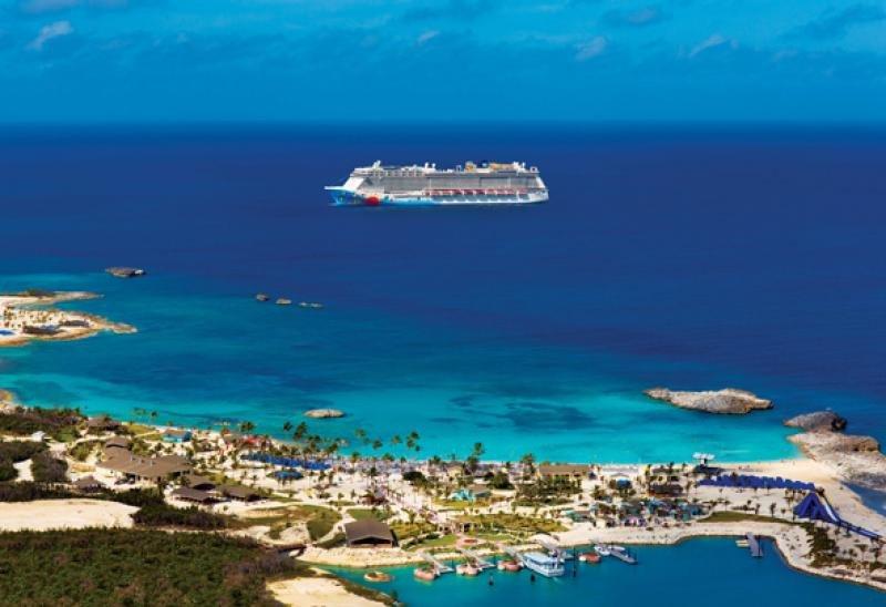 Great Stirrup Cay es la isla privada de NCL, a disposición de sus pasajeros.