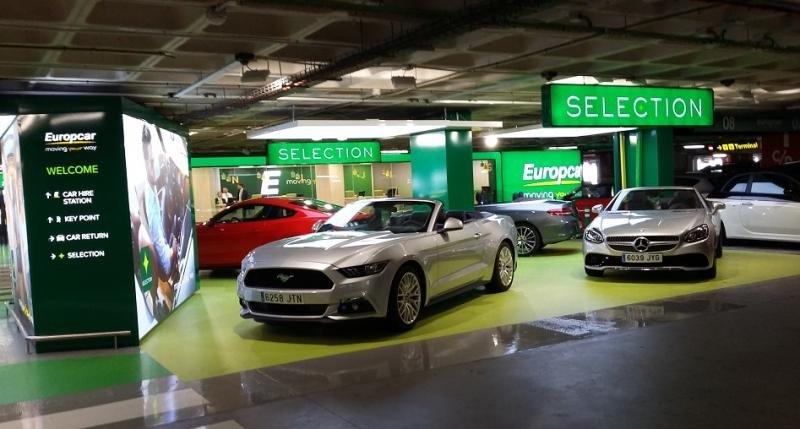 Europcar se propone una gestión inteligente del espacio y disponer de localizaciones estratégicas cerca de grandes centros urbanos.