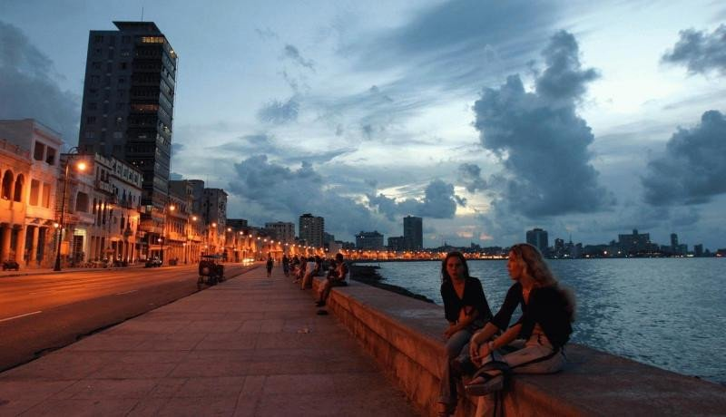 El Malecón sufrió daños pero se trabaja intensamente para volverlo a la normalidad.