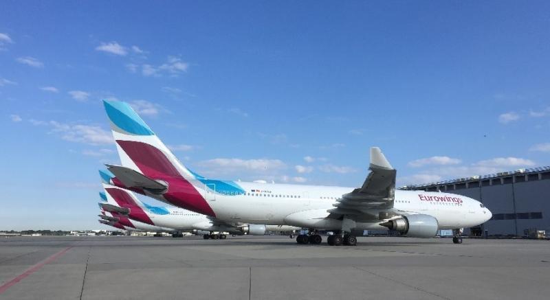 Lufthansa aprueba una inversión de 1.000 M € en la expansión de Eurowings