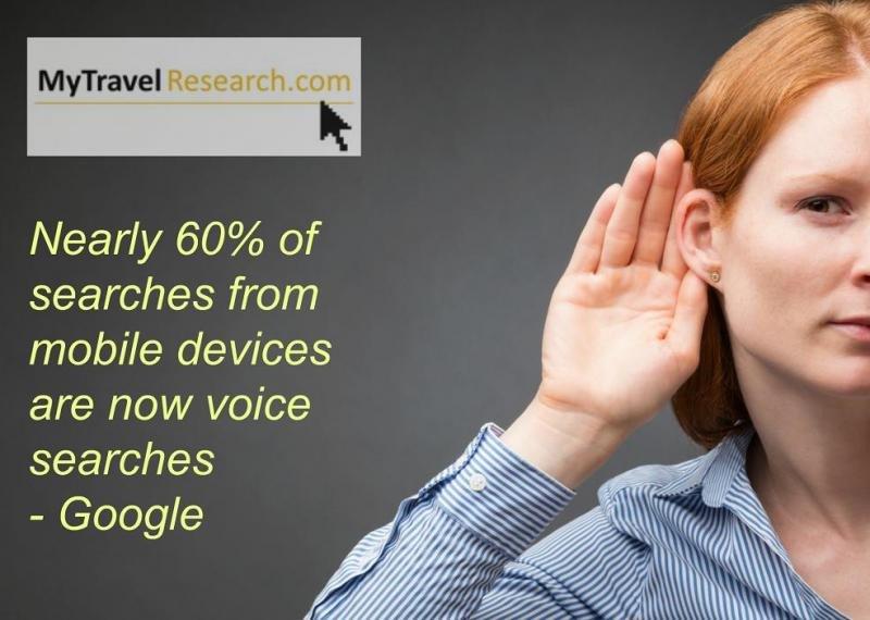Google ha revelado que casi el 60% de las búsquedas desde dispositivos móviles es por voz.