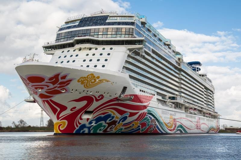 Norwegian Joy, el barco creado por NCL exclusivamente para China.
