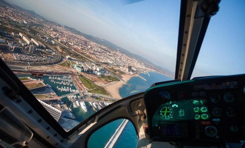 Aviación Civil cierra el espacio aéreo de Barcelona a vuelos de observación (Foto: MACHBEL).