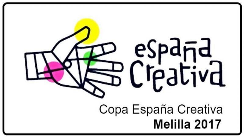 Logo de la próxima edición de la Copa España Creativa, en la que participarán 20 seleccionados.