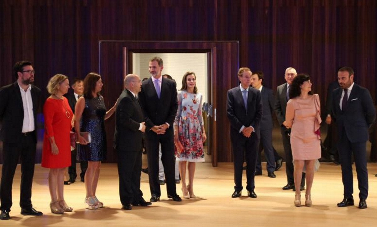 El Rey defendió el 'papel verdaderamente protagonista' del turismo en el desarrollo económico de España, en la inauguración del Palacio de Congresos de Palma.