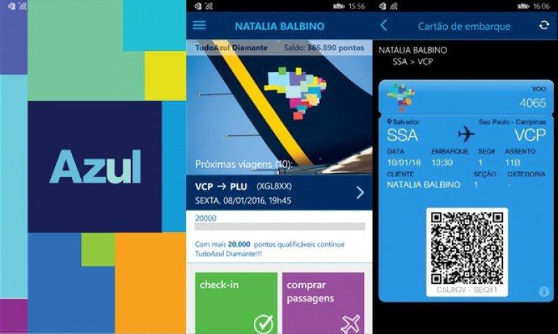 """Azul es la aerolínea mejor evaluada de Brasil en """"mercado mobile"""""""