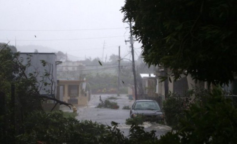 Puerto Rico tras el paso de Irma.