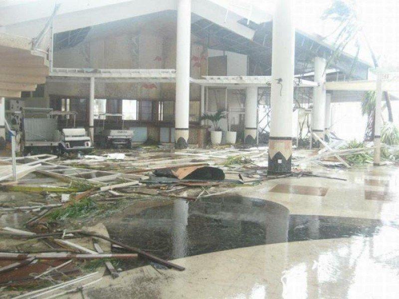 Daños sufridos por el hotel Meliá Cayo Coco.