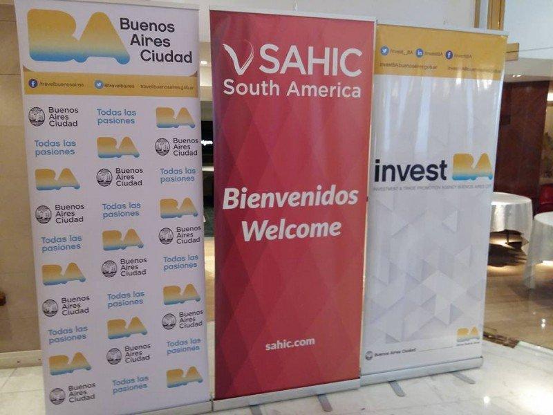 Buenos Aires recibe a 400 líderes hoteleros e inversores en SAHIC 2017
