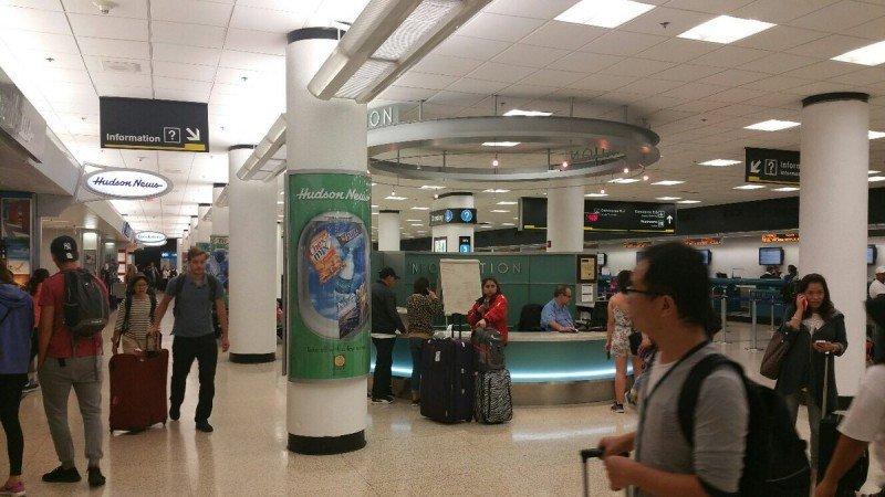 El aeropuerto de Miami recompone sus operaciones tras más de 72 horas cerrado por Irma. Foto: @iflymia