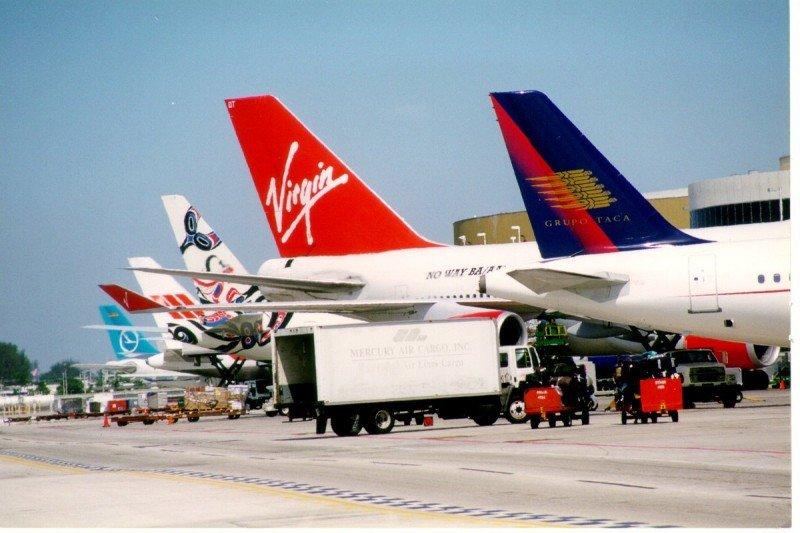 El aeropuerto de Miami opera a la mitad de su capacidad