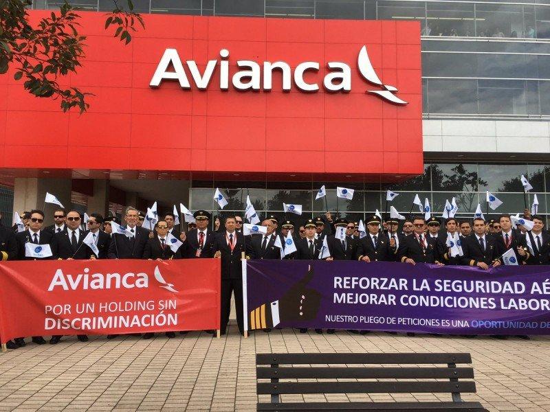 Los pilotos nucleados en ACDAC no llegaron a un acuerdo durante el período de negociación con Avianca. Foto: @presidenteacdac